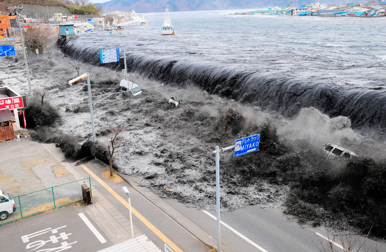 japan earthquake and tsunami 2011 March 2011: tsunami wave sweeps inland jump to media player a massive earthquake has hit the north-east of japan triggering a tsunami that has caused extensive damage.