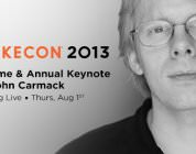 John Carmack Keynote Presented at QuakeCon 2013