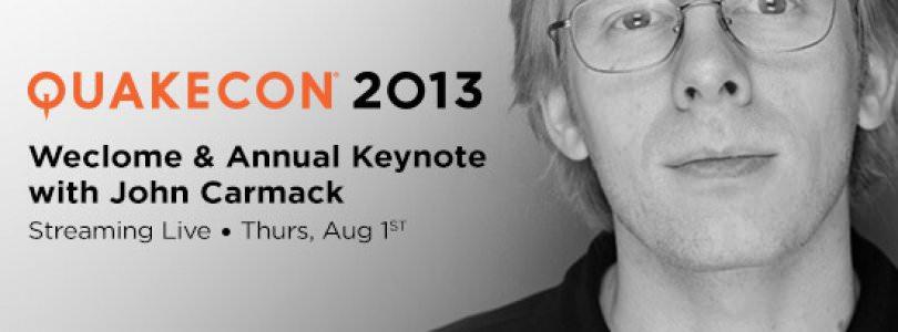 John Carmack Keynote Presented at QuakeCon 2013