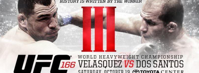 UFC 166 Full Match Card