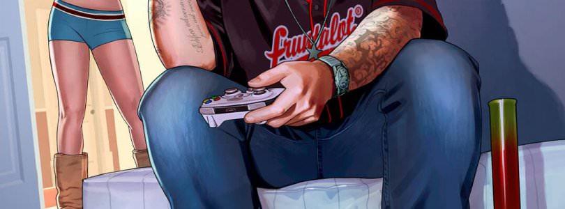 GTA V Playing Xbox 360 artwork