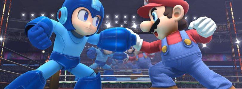 Super Smash Bros Wii U Mega Man vs Mario