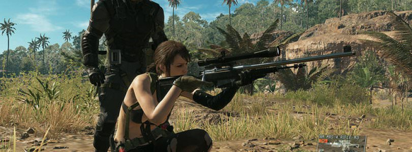 Metal Gear Solid V: The Phantom Pain TGS Blowup Hub