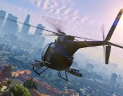 Grand Theft Auto V HD Little Bird helicopter