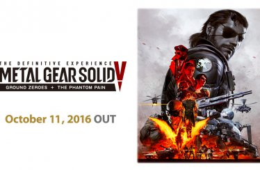Metal Gear Solid V: The Definitive Experience Launches on October