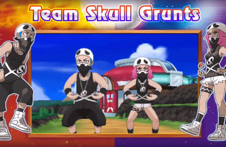Pokémon Sun and Moon – Team Skull and more Pokemon trailer