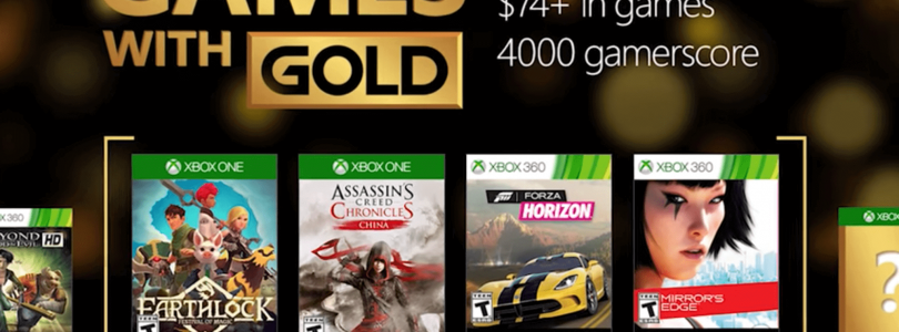 Games with Gold for September 2016 on Xbox One and Xbox 360