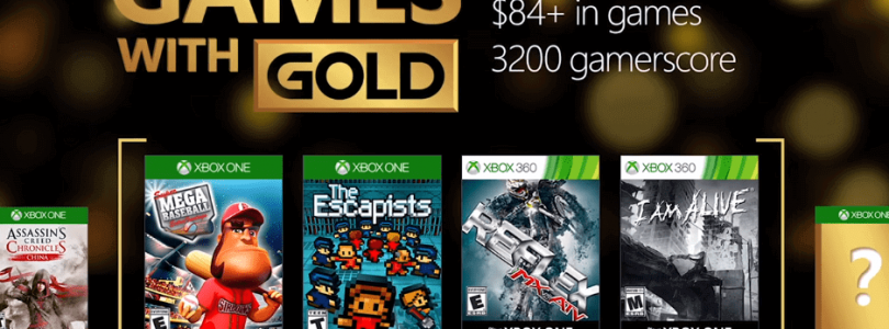 Games with Gold for October 2016 on Xbox One and Xbox 360